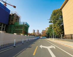 西安高新产业开发区创客空间东侧规划路