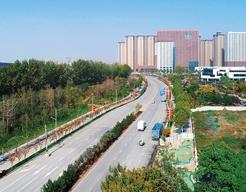 西安市高新技术产业开发区工程-云水一路道路