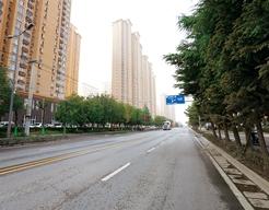 西安市高新技术产业开发区工程-上林苑一路道路
