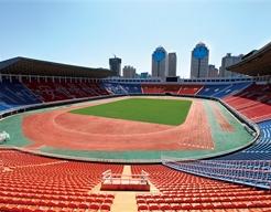 陕西省体育场跑道工程