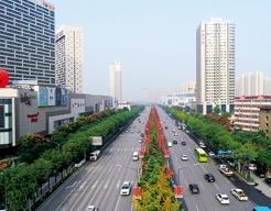西咸新区沣东新城三桥新街道路